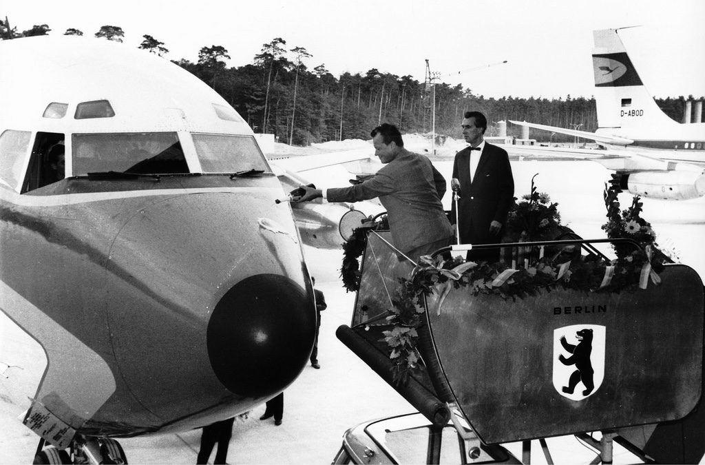 Berlins Boeing 707